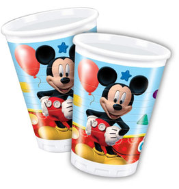 Plastic bekers Mickey Mouse 200ml