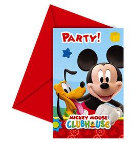 Uitnodigingen Mickey Mouse