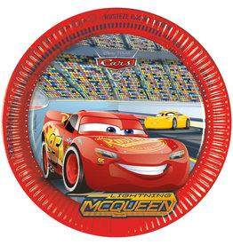 Kartonnen borden Cars 23cm