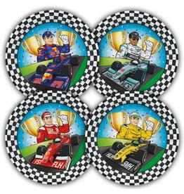 Formule 1 borden 8 stuks a 23 cm