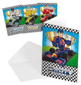 Formule 1 uitnodigingen 8 stuks