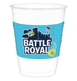 Amscan Battle royale plastic cups 8 stuks