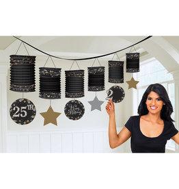 Amscan sparkling slinger met lantaarn decoraties DIY