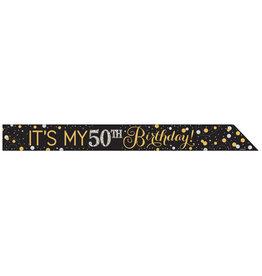 Amscan sparkling sjerp It's my birthday DIY