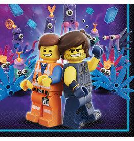 Amscan Lego movie servetten 16 stuks