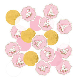 Amscan lovely swan confetti 14 gram