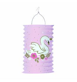 Amscan lovely swan lantaarn 1 stuk