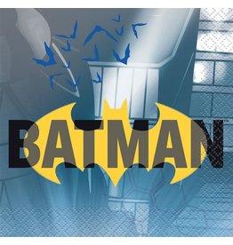Batman servetten 25 x 25 cm 16 stuks