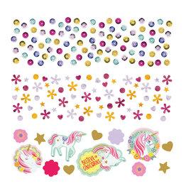 Amscan unicorn confetti