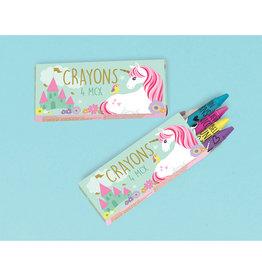 Amscan unicorn krijtjes 12-pack
