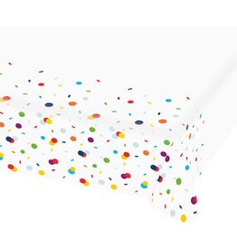 Amscan confetti papieren tafelkleed 1,20 x 1,80 meter