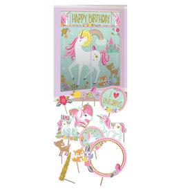 Amscan unicorn scenesetter & party props