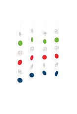 Amscan confetti hangdecoratie string 4 stuks