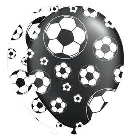 Ballonnen voetbal 8 stuks