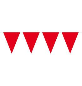 Mini vlaggenlijn rood 3 meter