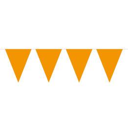 Mini vlaggenlijn oranje 3 meter