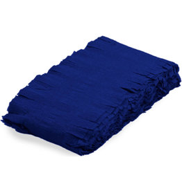 Crêpe slinger blauw 6 meter