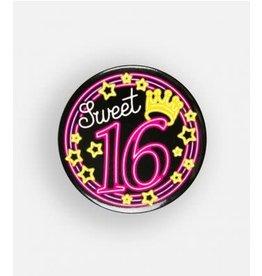 Neon button klein nr 14 sweet 16
