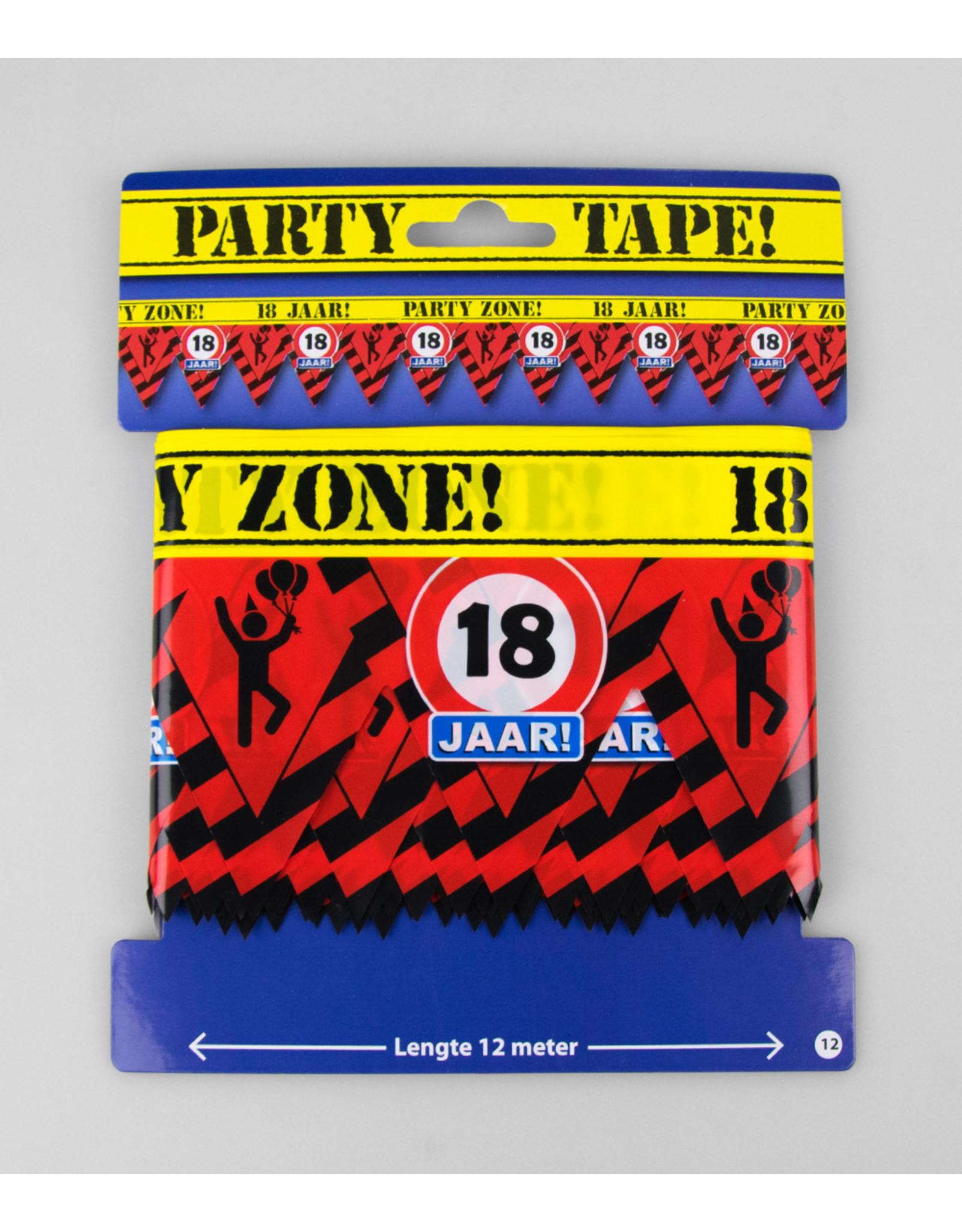 Afzetlint party zone 18 jaar
