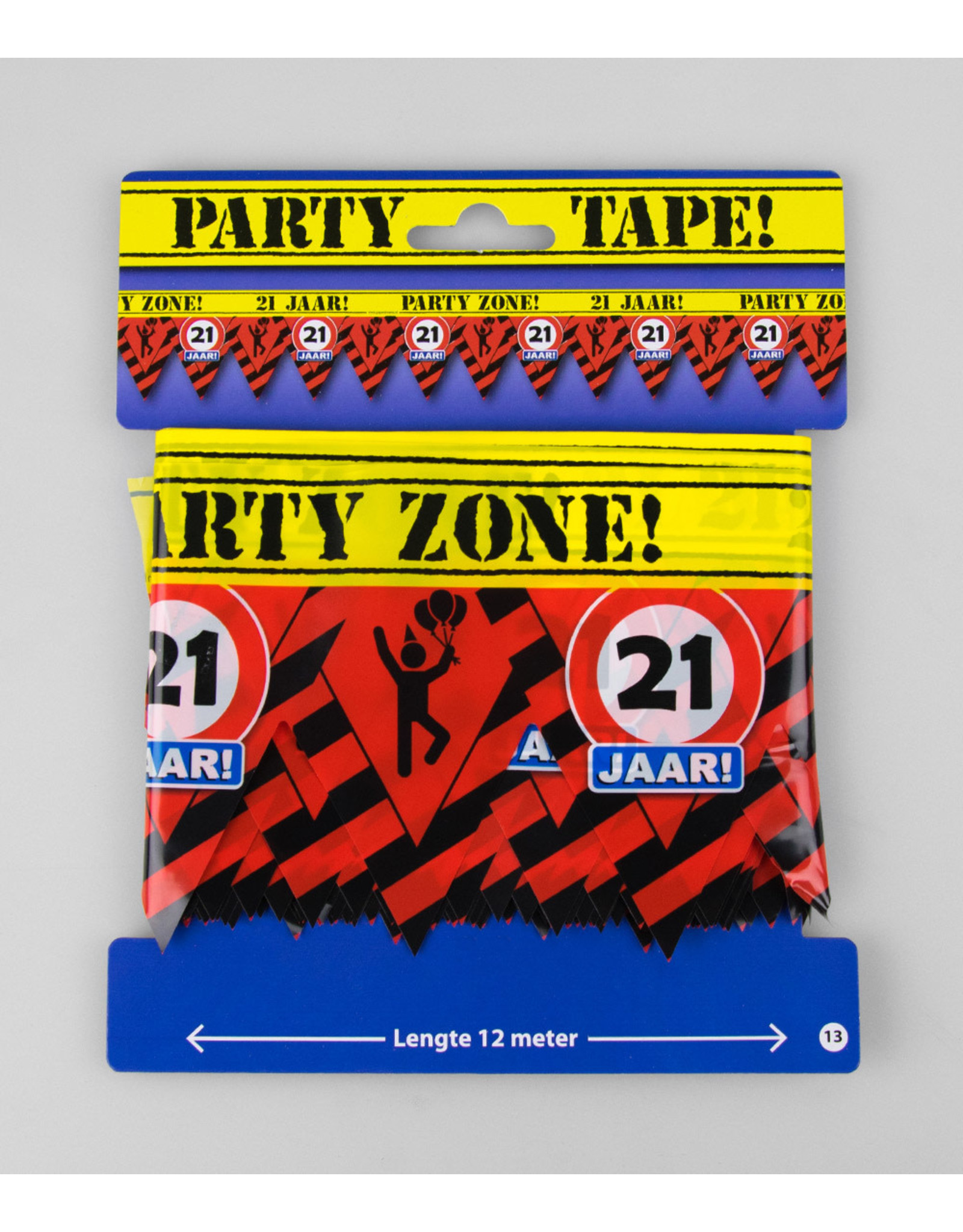 Afzetlint party zone 21 jaar