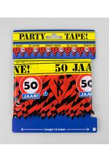 Afzetlint party zone 50 jaar