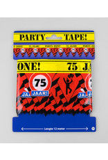 Afzetlint party zone 75 jaar