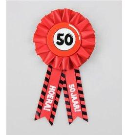 Party rozet 50 jaar