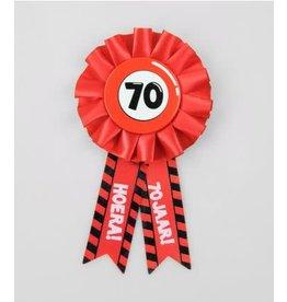 Party rozet 70 jaar