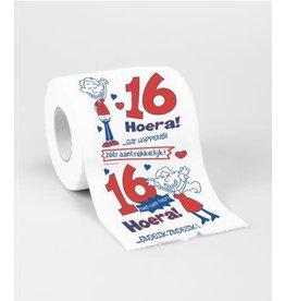 Toiletpapier nr 1 16 jaar