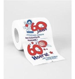 Toiletpapier nr 16 60 jaar