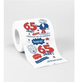 Toiletpapier nr 16 65 jaar
