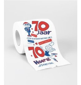Toiletpapier nr 18 70 jaar