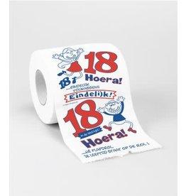Toiletpapier nr 2 18 jaar