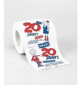 Toiletpapier nr 3 20 jaar