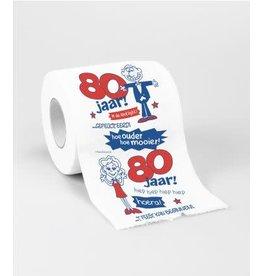 Toiletpapier nr 33 80 jaar