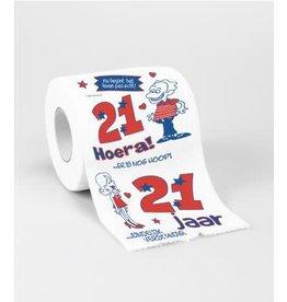 Toiletpapier nr 4 21 jaar