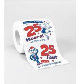 Toiletpapier nr 5 25 jaar