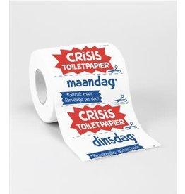 Toiletpapier rol nr 32 Crisis