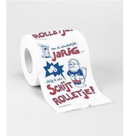 Toiletpapier nr 22 Schijtrolletje