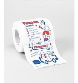 Toiletpapier rol nr 35 pensioen
