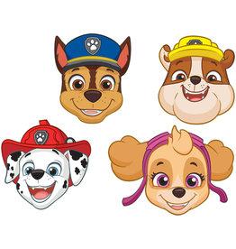 Amscan Paw Patrol maskers 8 stuks