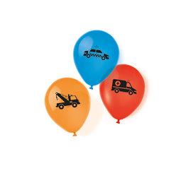 Amscan on the road ballonnen 6 stuks