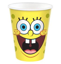 Amscan Spongebob bekers 8 stuks