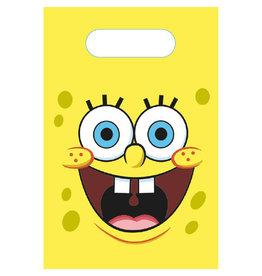 Amscan Spongebob uitdeelzakjes 8 stuks