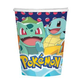 Amscan Pokemon bekers 8 stuks