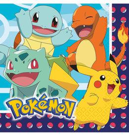 Amscan Pokemon servetten 16 stuks