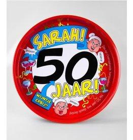 Dienblad nr 7 Sarah 50 jaar