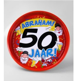 Dienblad nr 6 50 jaar Abraham