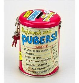 Spaarpot nr 15 Pubers