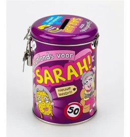 Spaarpot nr 9 Sarah